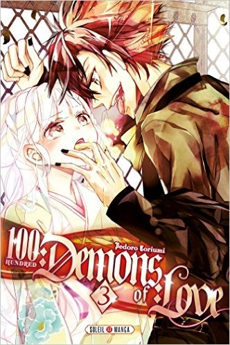 Couverture 100 demons of love, tome 3