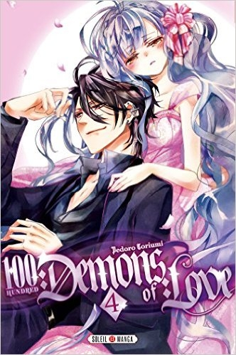 Couverture 100 demons of love, tome 4