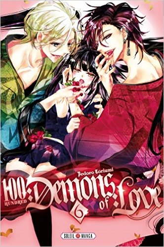 Couverture 100 demons of love, tome 6