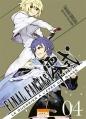 Couverture Final Fantasy Type-0 : Le Guerrier à l'épée de glace, tome 4 Editions Ki-oon (Shônen) 2016