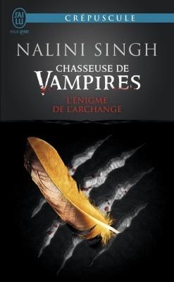 Couverture Chasseuse de vampires, tome 08 : L'énigme de l'archange