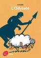 Couverture L'Odyssée, abrégée Editions Le Livre de Poche (Jeunesse) 2014