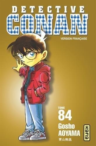 Couverture Détective Conan, tome 84