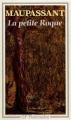 Couverture La petite roque et autres nouvelles Editions Flammarion (GF) 1989