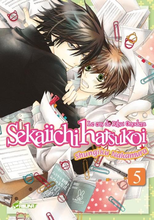 Couverture Sekaiichi Hatsukoi : Le cas de Ritsu Onodera, tome 05