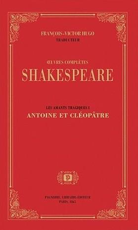 Couverture Antoine et Cléopâtre