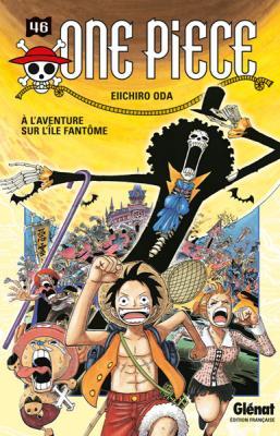 Couverture One Piece, tome 46 : À l'aventure sur l'île fantôme