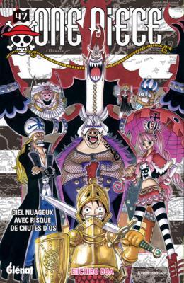 Couverture One Piece, tome 47 : Ciel nuageux avec risque de chutes d'os
