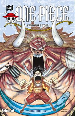 Couverture One Piece, tome 48 : L'aventure d'Odz