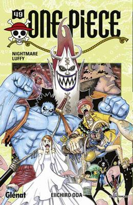Couverture One Piece, tome 049 : Nightmare Luffy