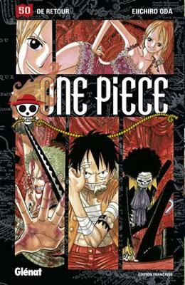 Couverture One Piece, tome 50 : De retour