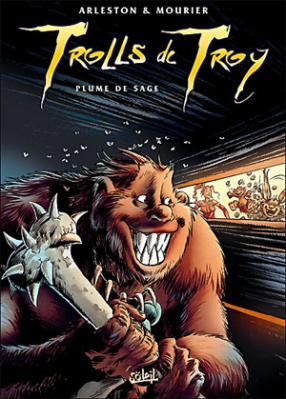 Couverture Trolls de Troy, tome 07 : Plume de sage