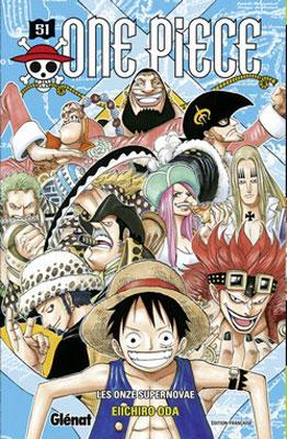 Couverture One Piece, tome 51 : Les onze supernovae
