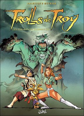 Couverture Trolls de Troy, tome 10 : Les enragés du Darshan