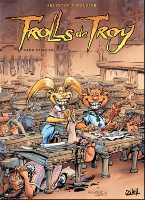 Couverture Trolls de Troy, tome 12 : Sang famille