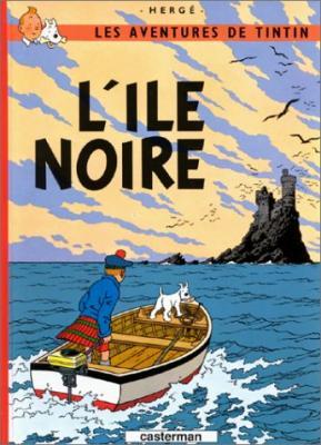 Couverture Les aventures de Tintin, tome 07 : L'Île Noire