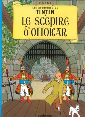 Couverture Les aventures de Tintin, tome 08 : Le Sceptre d'Ottokar