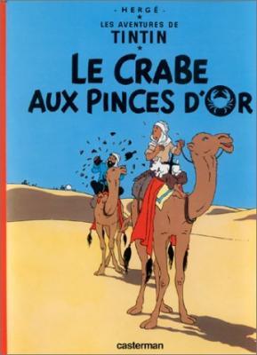 Couverture Les aventures de Tintin, tome 09 : Le Crabe aux pinces d'or