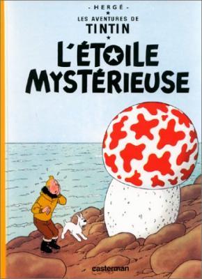 Couverture Les aventures de Tintin, tome 10 : L'Étoile mystérieuse