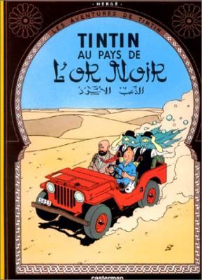 Couverture Les aventures de Tintin, tome 15 : Tintin au pays de l'or noir