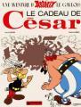 Couverture Astérix, tome 21 : Le cadeau de César Editions Dargaud 1978