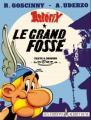 Couverture Astérix, tome 25 : Le grand fossé Editions Albert René 1980