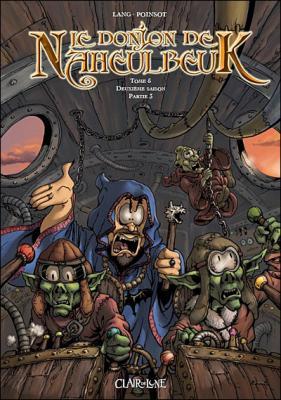Couverture Le donjon de Naheulbeuk (BD), tome 05 : Deuxième saison, partie 3