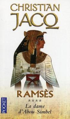 Couverture Ramsès, tome 4 : La dame d'Abou Simbel