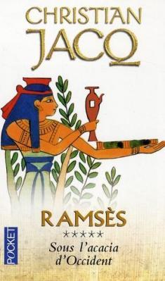 Couverture Ramsès, tome 5 :  Sous l'acacia d'occident