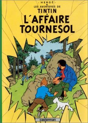 Couverture Les aventures de Tintin, tome 18 : L'Affaire Tournesol