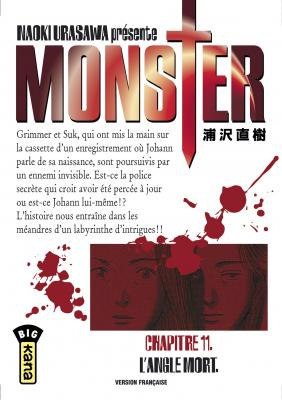 Couverture Monster, tome 11 : L'angle mort