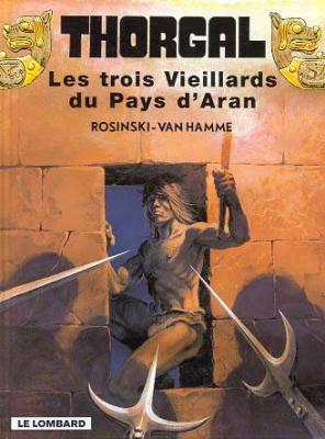 Couverture Thorgal, tome 03 : Les trois Vieillards du Pays d'Aran