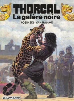 Couverture Thorgal, tome 04 : La Galère Noire