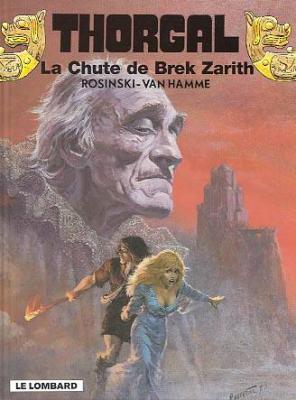 Couverture Thorgal, tome 06 : La Chute de Brek Zarith