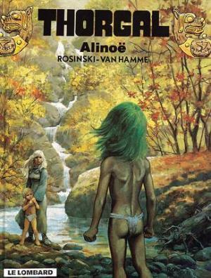Couverture Thorgal, tome 08 : Alinoë