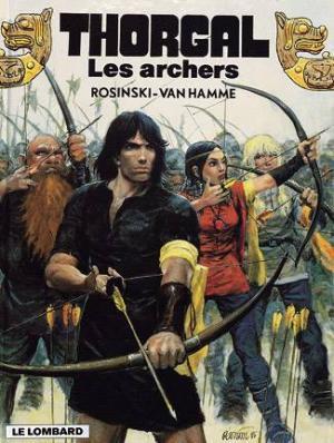 Couverture Thorgal, tome 09 : Les Archers