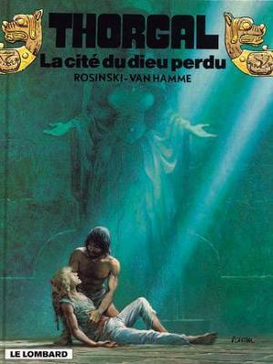 Couverture Thorgal, tome 12 : La Cité du Dieu Perdu