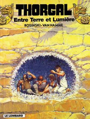 Couverture Thorgal, tome 13 : Entre Terre et Lumière