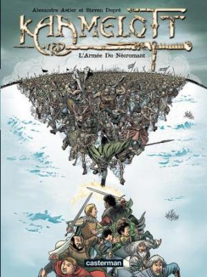 Couverture Kaamelott (BD), tome 1 : L'armée du nécromant
