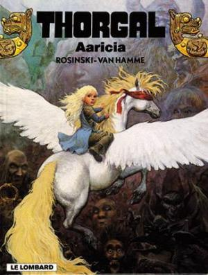 Couverture Thorgal, tome 14 : Aaricia