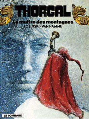 Couverture Thorgal, tome 15 : Le Maître des Montagnes