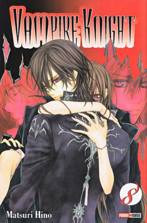 Couverture Vampire Knight, tome 08