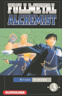 Couverture Fullmetal Alchemist, tome 03
