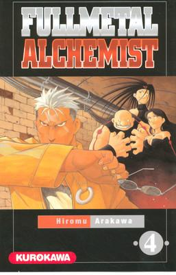 Couverture Fullmetal Alchemist, tome 04