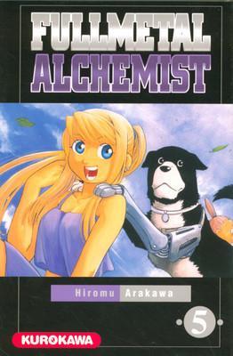 Couverture Fullmetal Alchemist, tome 05