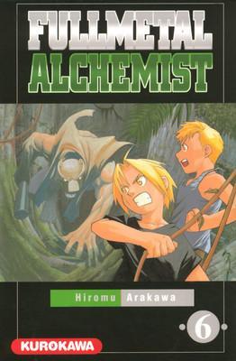 Couverture Fullmetal Alchemist, tome 06