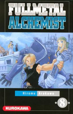 Couverture Fullmetal Alchemist, tome 08