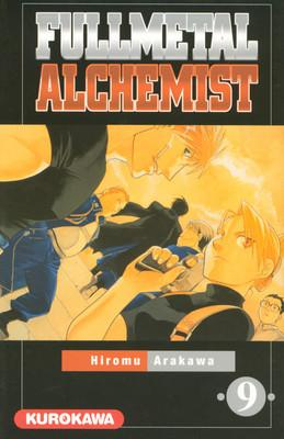 Couverture Fullmetal Alchemist, tome 09