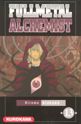 Couverture Fullmetal Alchemist, tome 13