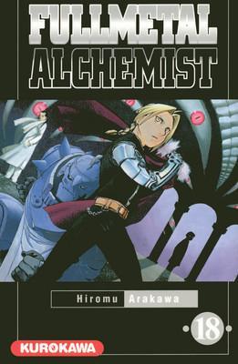 Couverture Fullmetal Alchemist, tome 18
